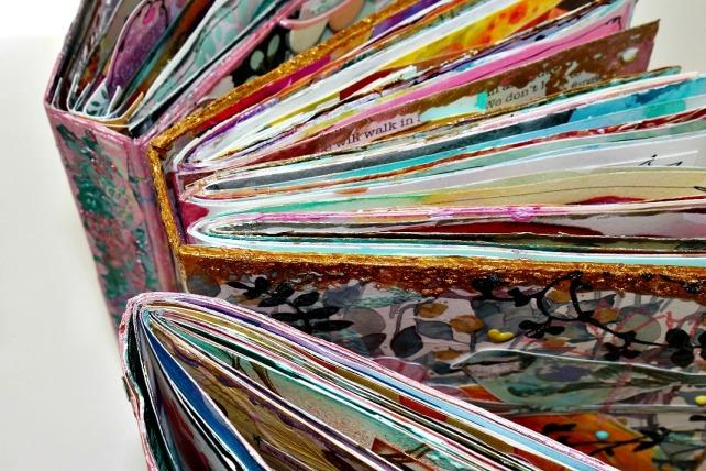 Live ArtJournaling en Creativa Barcelona 2015 - 2