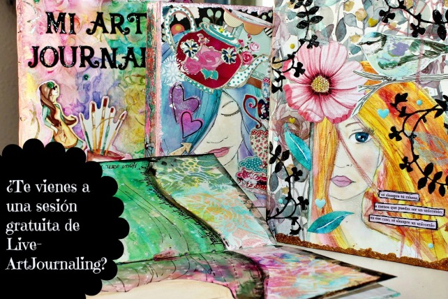 Live ArtJournaling en Creativa Barcelona 2015 - 3