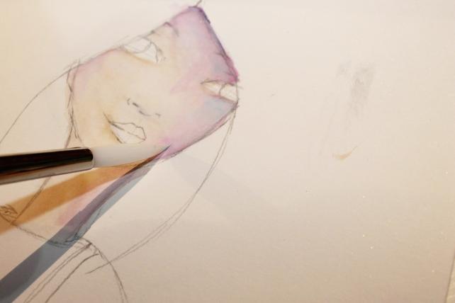 Peerless watercolor reseña y tutorial Bienve Prieto 11