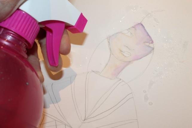Peerless watercolor reseña y tutorial Bienve Prieto 12