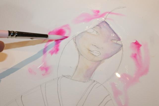 Peerless watercolor reseña y tutorial Bienve Prieto 13