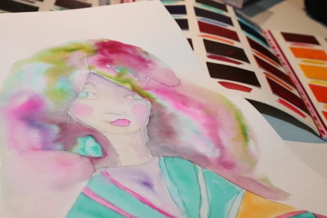 Peerless watercolor reseña y tutorial Bienve Prieto 15