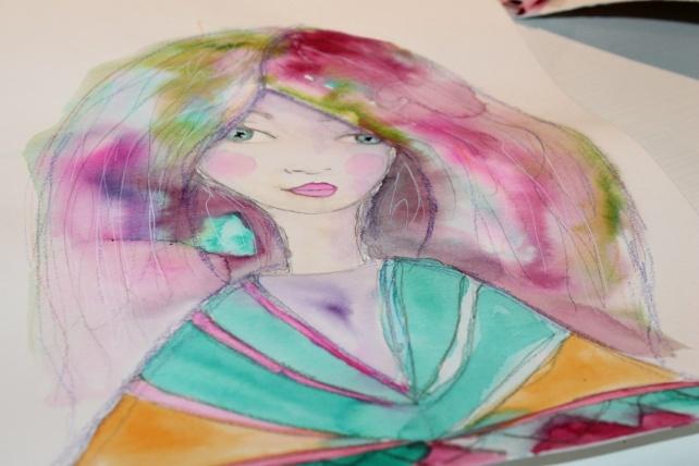 Peerless watercolor reseña y tutorial Bienve Prieto 16
