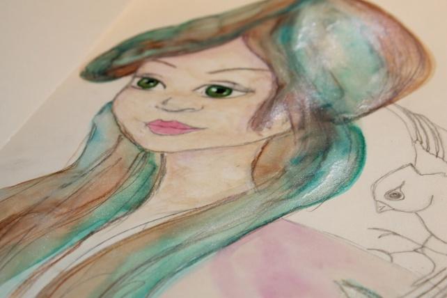Peerless watercolor reseña y tutorial Bienve Prieto 21