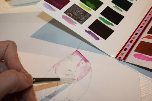 Peerless watercolor reseña y tutorial Bienve Prieto 8
