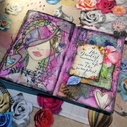 ArtJournal con Bienve Prieto 1