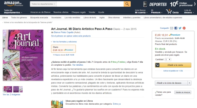 ArtJournal en Amazon