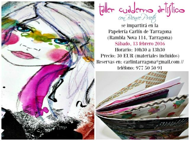 Collage Taller en Carlin-Tarragona