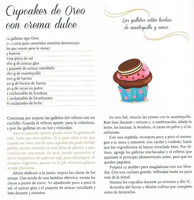 Cupcakes de Oreo de Bienve Prieto