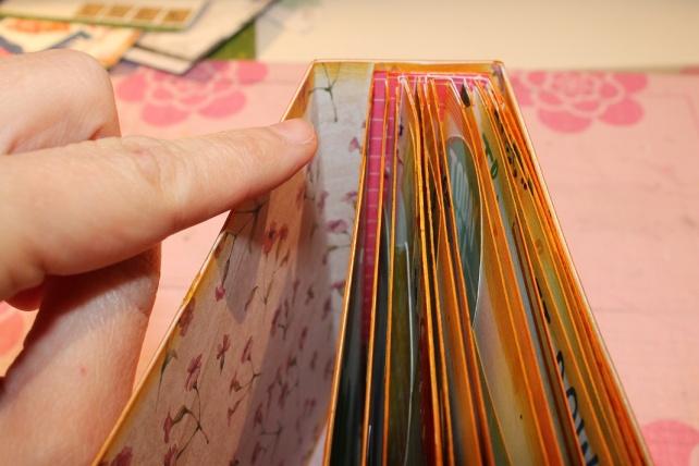 Mini álbum de caja de galletas 16