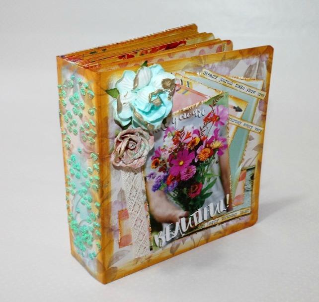 Mini álbum de caja de galletas 28