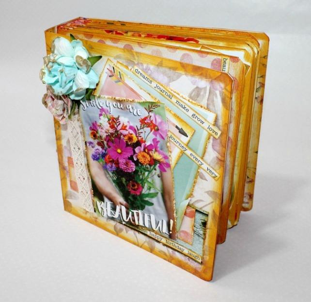Mini álbum de caja de galletas 29