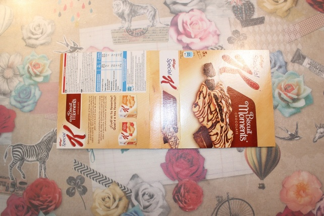 Mini álbum de caja de galletas 3