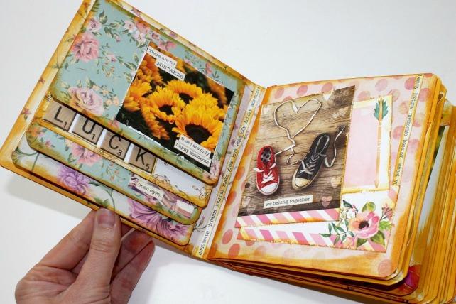Mini álbum de caja de galletas 32