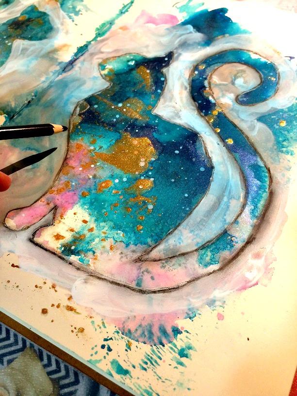 Tutorial MixedMedia-Bienve Prieto-Gato galáctico 19
