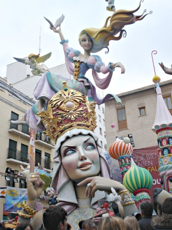 Fallas 2016 - Falla Plaza del Pilar 1