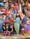 Fallas 2016 - Falla Plaza Mercado Central 1