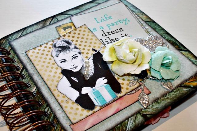 Álbum Audrey Hepbunr Patricia Lopez 1