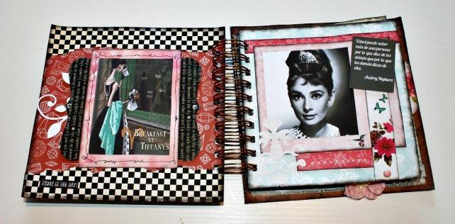 Álbum Audrey Hepbunr Patricia Lopez 2