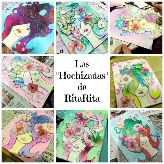 RITA RITA -4- turno de mañana en RitaRita-taller álbum con Bienve Prieto