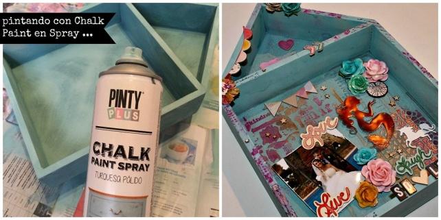 chalk paint en spray