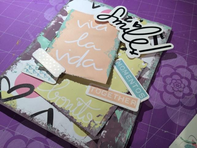 Libreta-Diario creativo con GigietMoi - Tutorial 13