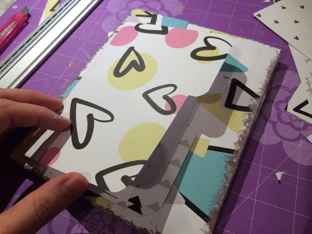 Libreta-Diario creativo con GigietMoi - Tutorial 17