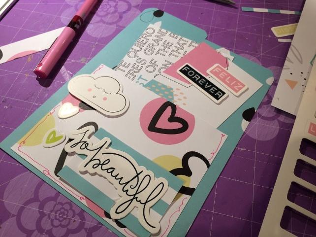 Libreta-Diario creativo con GigietMoi - Tutorial 23