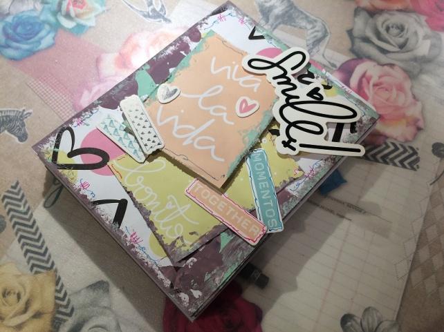 Libreta-Diario creativo con GigietMoi - Tutorial 26