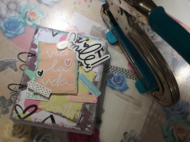 Libreta-Diario creativo con GigietMoi - Tutorial 27
