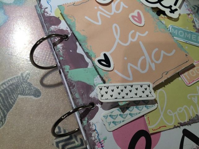 Libreta-Diario creativo con GigietMoi - Tutorial 28