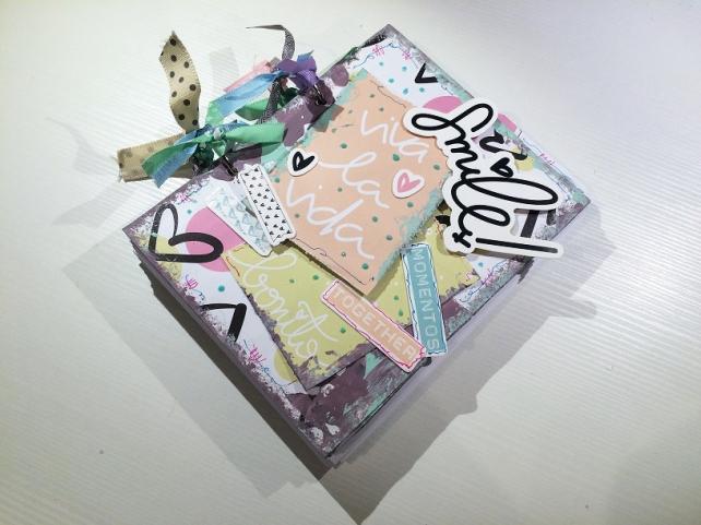 Libreta-Diario creativo con GigietMoi - Tutorial 29