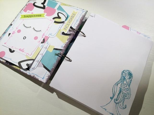 Libreta-Diario creativo con GigietMoi - Tutorial 32