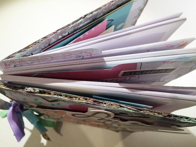 Libreta-Diario creativo con GigietMoi - Tutorial 42
