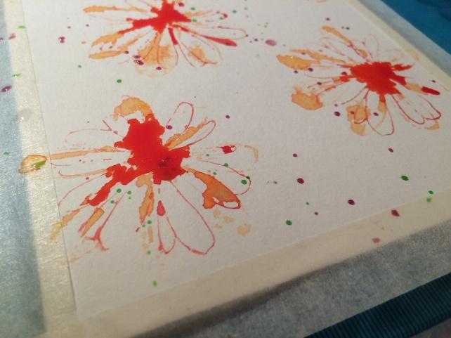 Tutorial tarjeta pintada con acuarelas 11