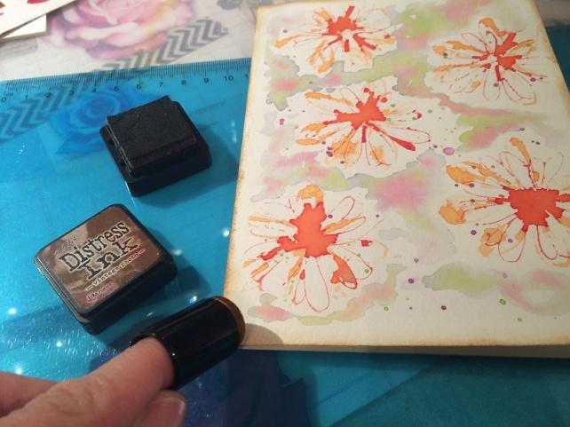 Tutorial tarjeta pintada con acuarelas 19