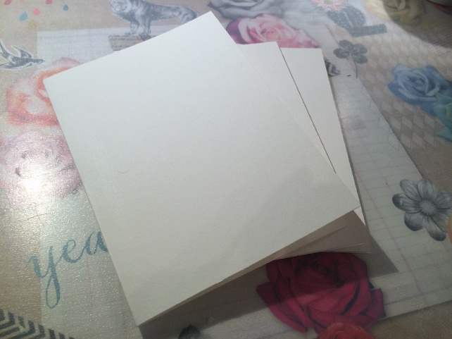 Tutorial tarjeta pintada con acuarelas 2