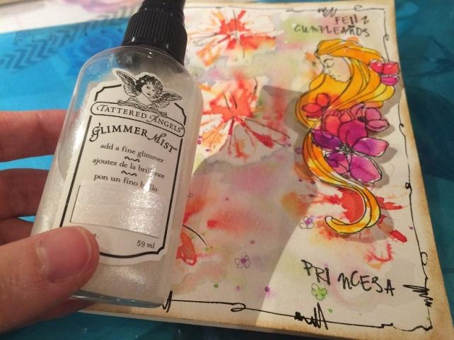 Tutorial tarjeta pintada con acuarelas 24
