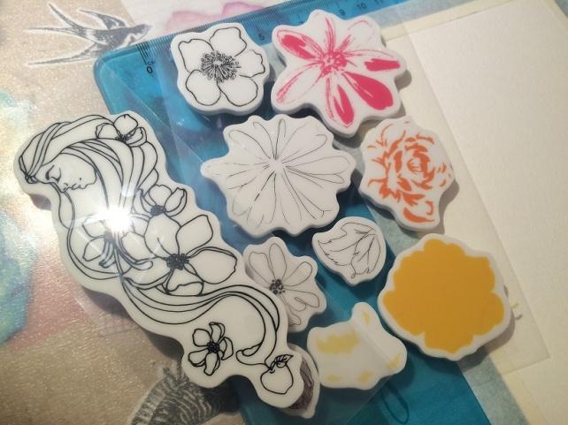 Tutorial tarjeta pintada con acuarelas 4