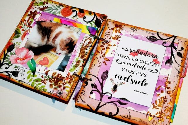 taller álbum scrapbook de acuarela bienve prieto 4