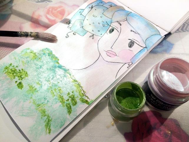 Art Alchemy Acrylic Paint Prima vs SILKS Luminarte 10