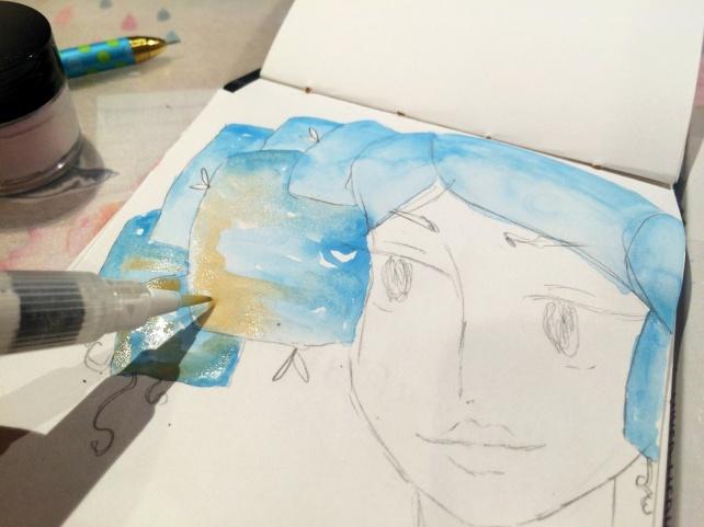 Art Alchemy Acrylic Paint Prima vs SILKS Luminarte 3