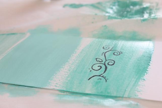 PearlEx y Art Alchemy Acrylic Paint reseña 11