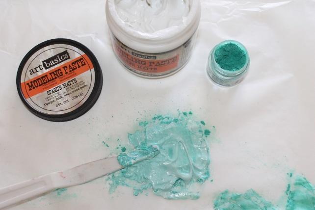 PearlEx y Art Alchemy Acrylic Paint reseña 13