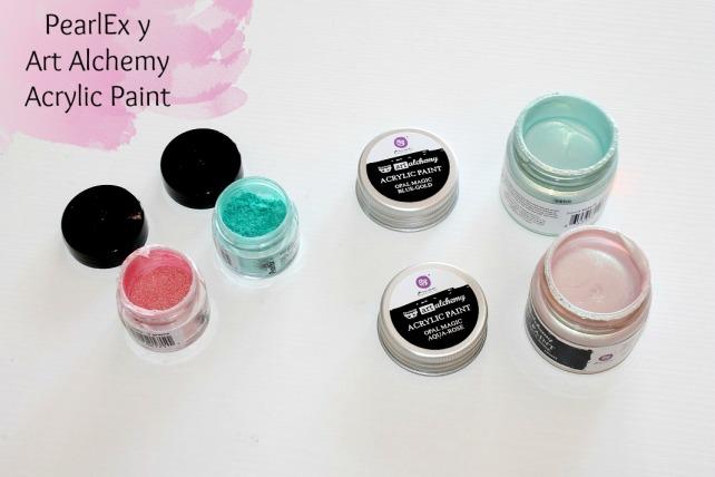 PearlEx y Art Alchemy Acrylic Paint reseña 18