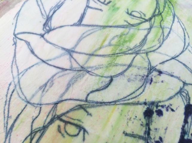 Reina de Corazones Pop - tutorial artjournal 4