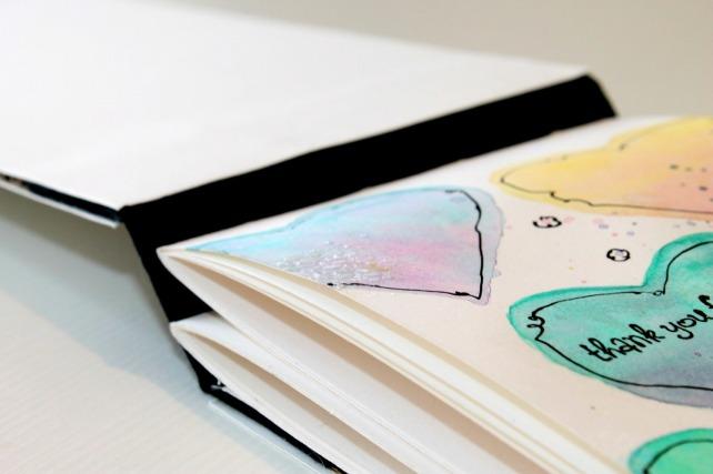 tarjeta corazones acuarela by bienve prieto cinderella 21